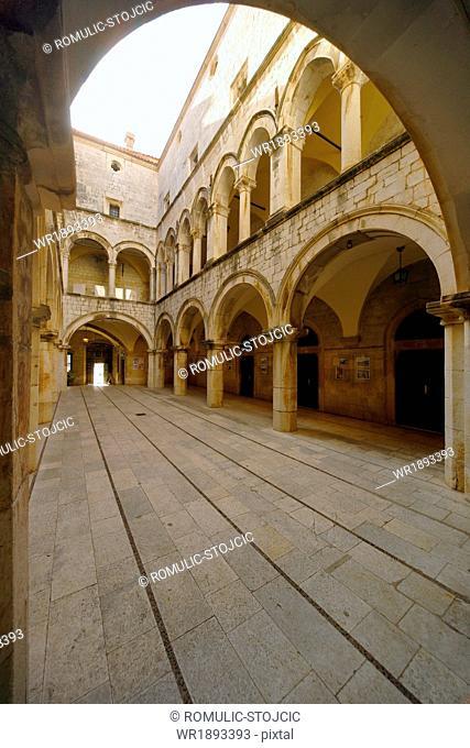 Rector's Palace, Dubrovnik, Dalmatia, Croatia