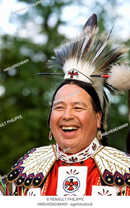 Canada, Ontario Province, Manitoulin Island, Endaa-Aang Eco Resort, Ameridian Pow Wow, Aundeck Omni Kaning First Nation