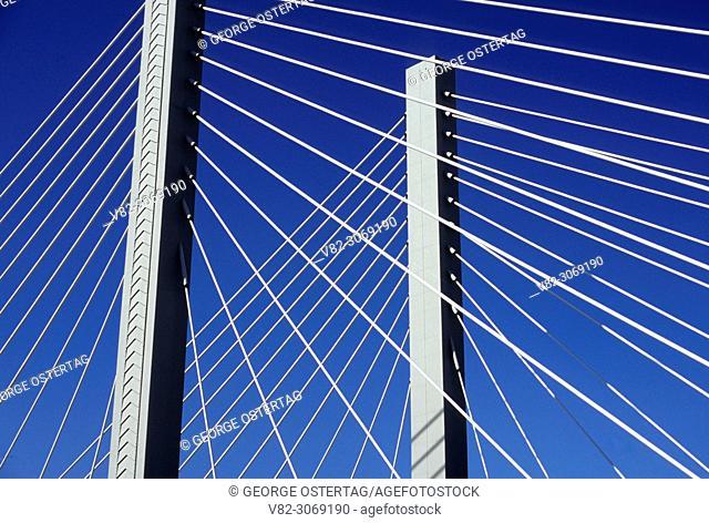 21st Street suspension bridge, Tacoma, Washington