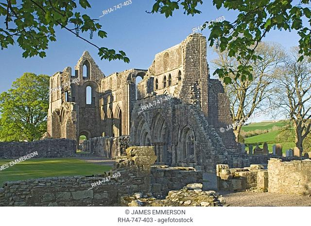 The 12th century Cistercian Dundrennan Abbey, founded by David 1st, where Mary Queen of Scots spent her last night on Scottish soil, Dumfries and Galloway