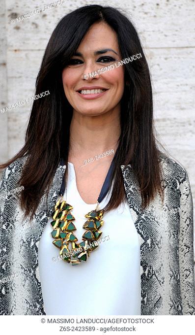 Maria Grazia Cucinotta ; cucinotta ;actress ; celebrities; 2015; rome; italy; event; photocall; nomi e cognomi