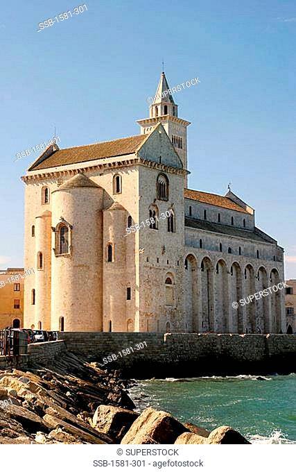 Cathedral on the waterfront, Norman Cathedral, Trani, Italy