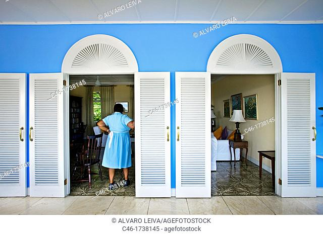 Jamaica Inn Hotel, Ocho Rios, Jamaica, West Indies, Caribbean, Central America