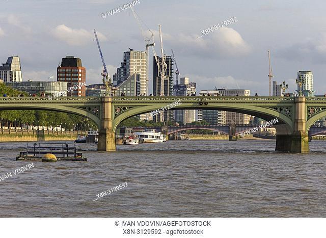 Westminster bridge, London, England, UK