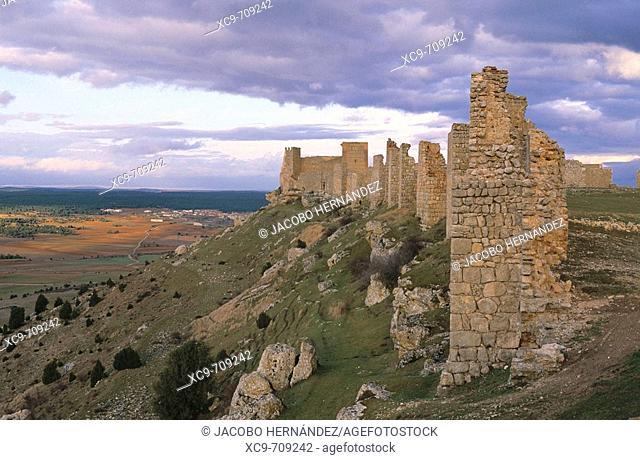 Alcazaba de Gormaz.Arquitectura musulmana.Gormaz.Soria.Castilla y León.España