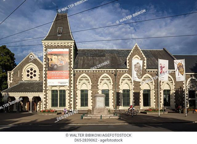 New Zealand, South Island, Christchurch, Canterbury Museum, exterior