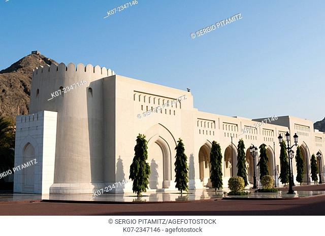 Sultan Qaboos Palace, Muscat, Oman