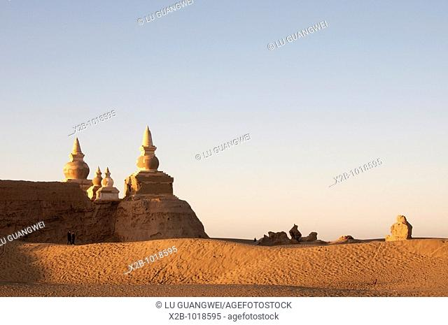 In October 2009, China's Inner Mongolia Autonomous Region EJINAQI,Tthe ruins of an ancient city