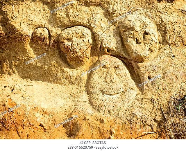 Sand faces