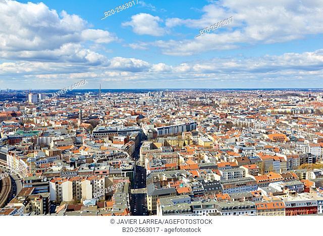 Aerial view, Berlin, Germany