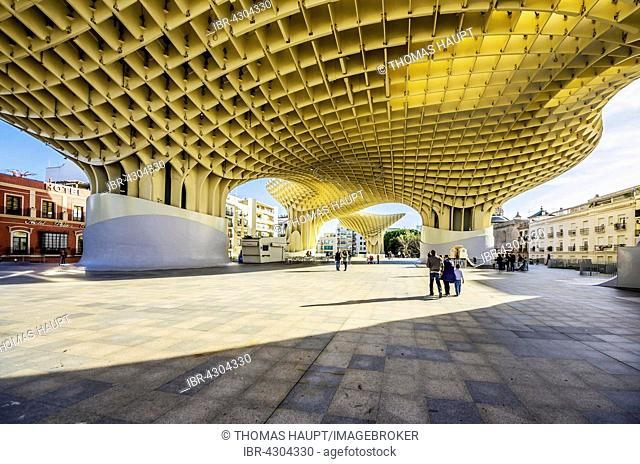 Metropol Parasol, Plaza de la Encarnacion, Seville, Andalucía, Spain, Seville, AndalucÃa, Spain