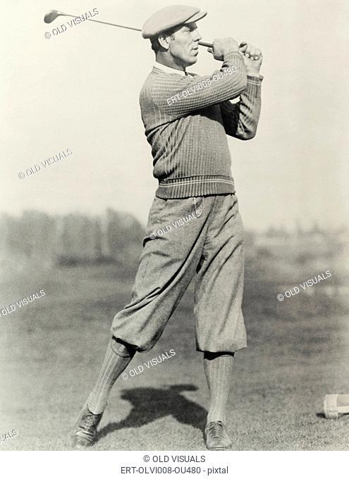 Golfer's stance (OLVI008-OU480-F)