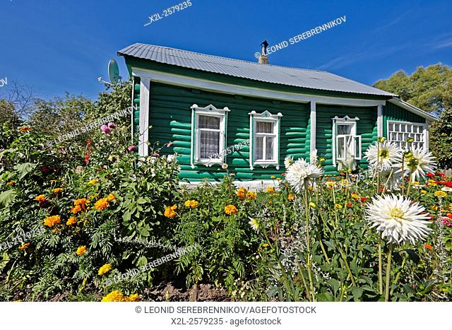 Old country house. Kaluga region, Russia
