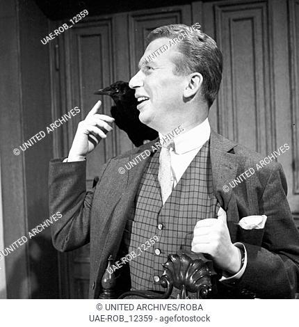 Herrn Walsers Raben, Fernsehspiel, Deutschland 1964, Regie: Dieter Lemmel, Darsteller: Heinz Reincke
