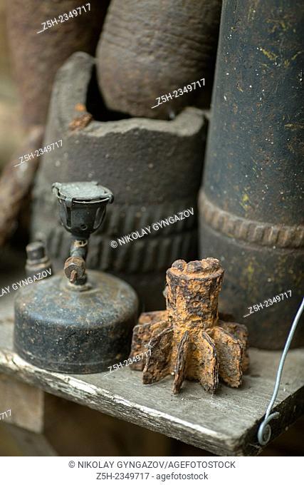 Artifacts from World War II