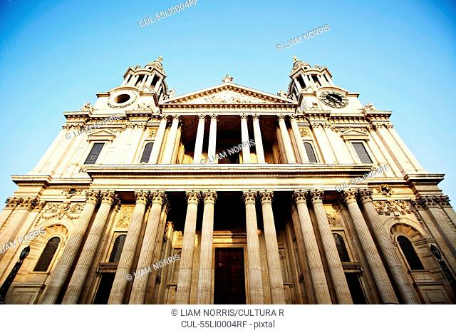 St Paul's Cathedral entrance, London, England, UK