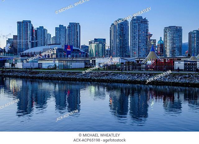 Rogers Arena at False Creek, Vancouver, British Columbia, Canada