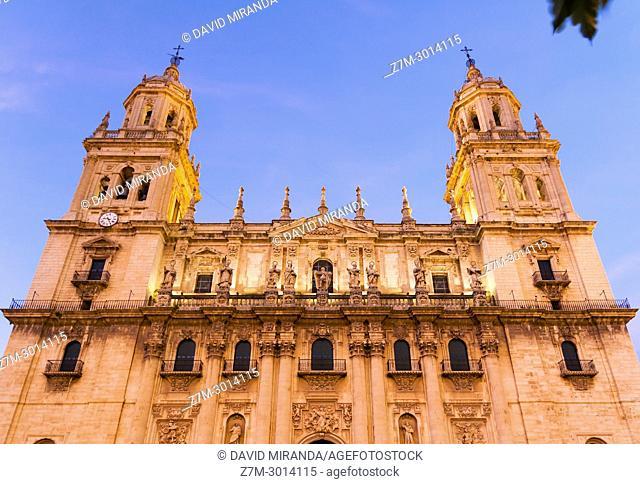 Catedral de la Asunción de la Virgen. City of Jaen. Andalusia. Spain