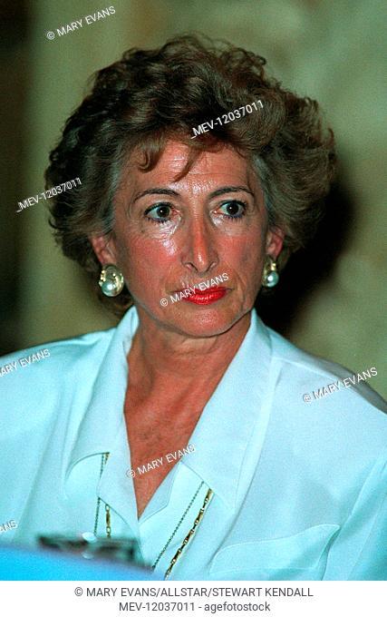 Dame Shirley Porter Lord Mayor Of Westminster 23 November 1991