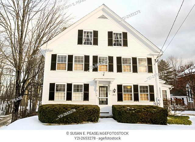 A home in Jaffrey Center, Jaffrey, New Hampshire, United States, North America