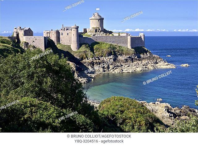 Fort La Latte, Cape Frehel, Cote d'Armor, Brittany, France