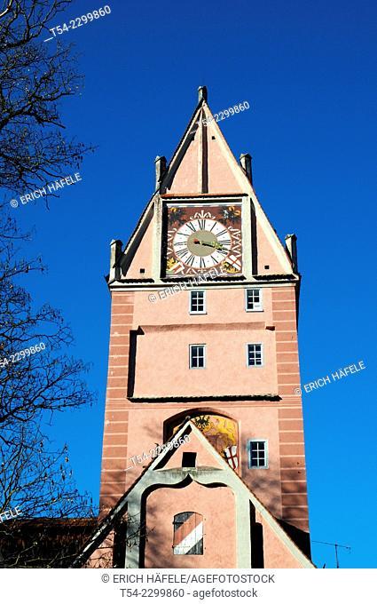 The Kempten gate in Memmingen
