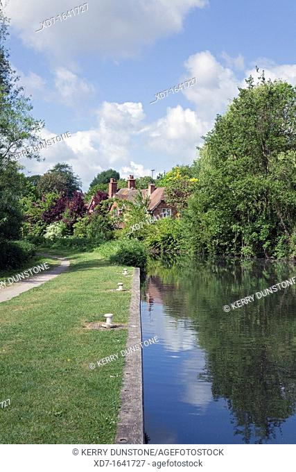 England Berkshire Theale Kennet and Avon Canal near Hanger Road