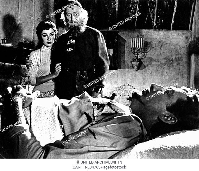 Ivanhoe, aka Ivanhoe - Der schwarze Ritter, USA, 1952, Regie: Richard Thorpe, Darsteller: Robert Taylor, Elizabeth Taylor; Felix Aylmer