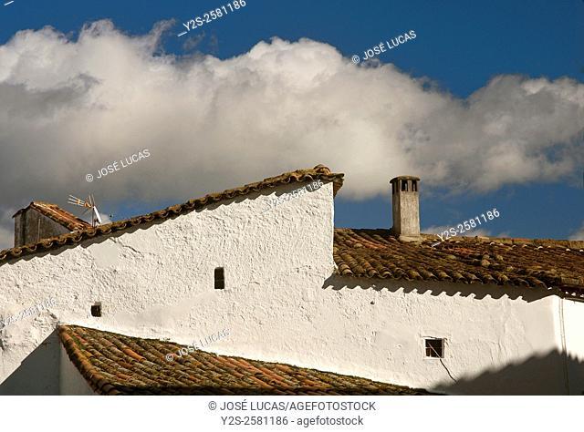 Urban view, Fuenteheridos, Huelva province, Region of Andalusia, Spain, Europe