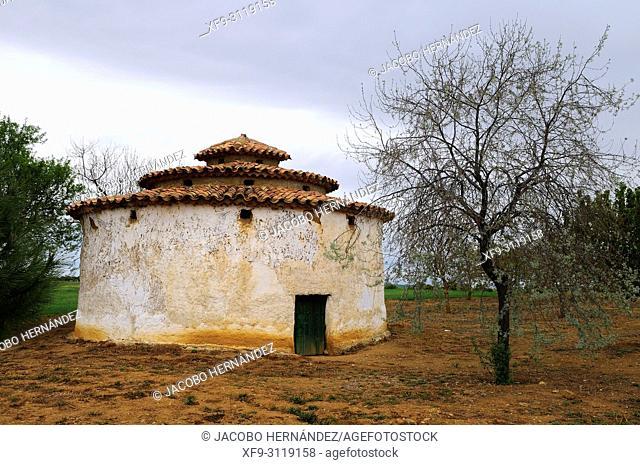 Dovecote. Villanueva de los Caballeros. Tierra de Campos region. Valladolid province. Castilla y Leon. Spain