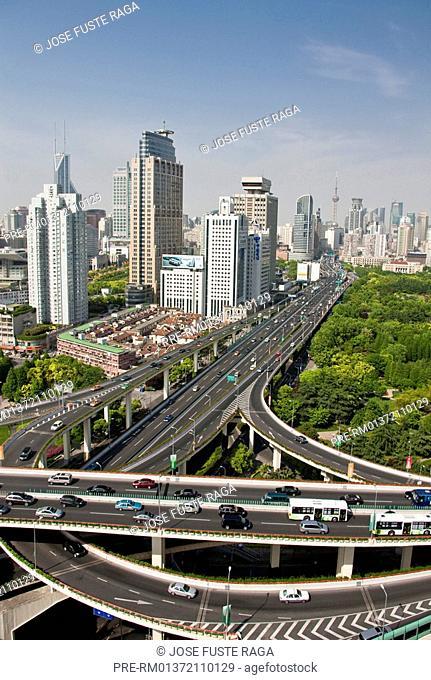 Highway, Shanghai, China, May 2010