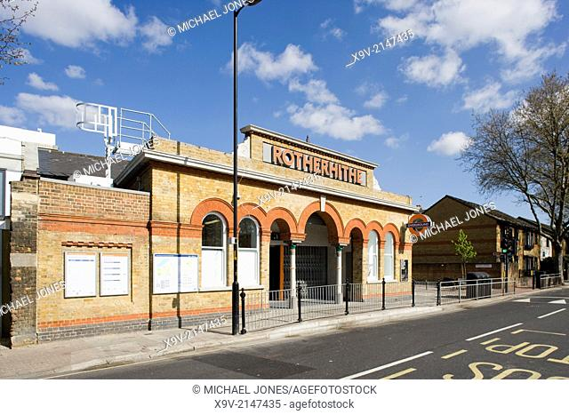 Rotherhithe Station, London Overground Railway, London