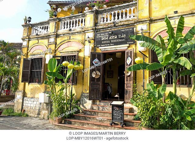 Traditional restaurant in Hoi An in Vietnam