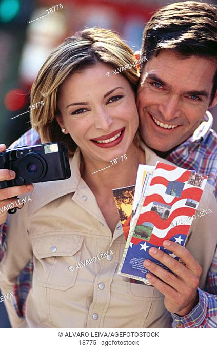 Couple with camera