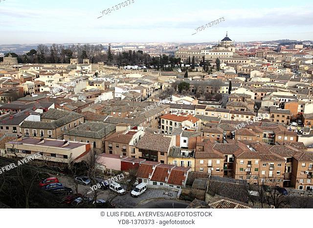 Panoramic View of Toledo, Madrid, Spain