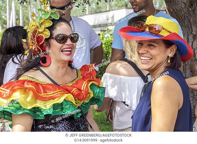 4ff1b50bc Florida, Coral Gables, Hispanic Cultural Festival, Latin American event, dancer  performer,