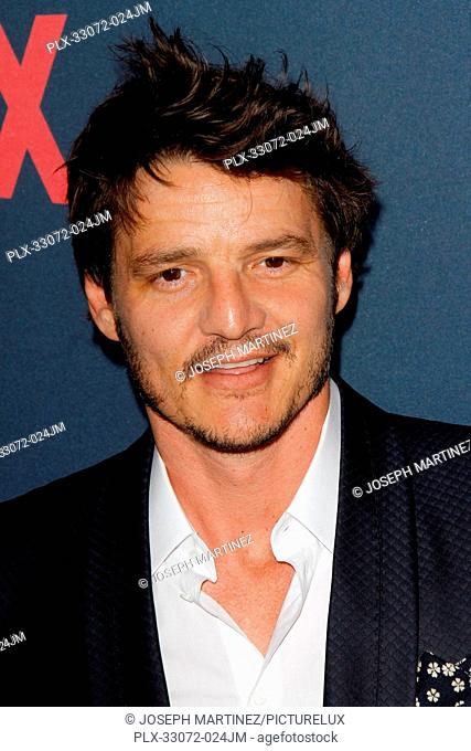 Pedro Pascal at the Premiere of Netflix's Narcos Season 2 Premiere held at Arclight Hollywood in Hollywood, CA, August 24, 2016
