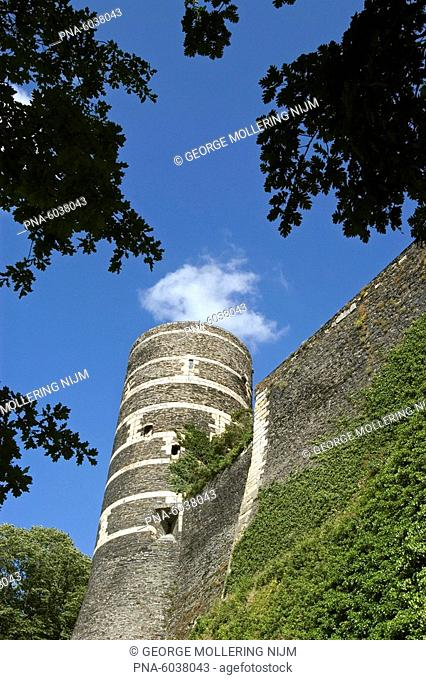 country France, region Maine-et-Loire, province Anjou, city Angers the capital of the department: