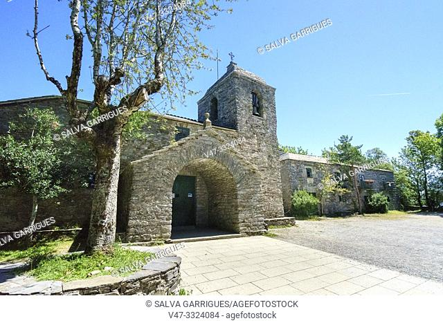El Cebrero (in Galician and officially O Cebreiro) is a parish of the municipality of Piedrafita del Cebrero, in the province of Lugo in Galicia