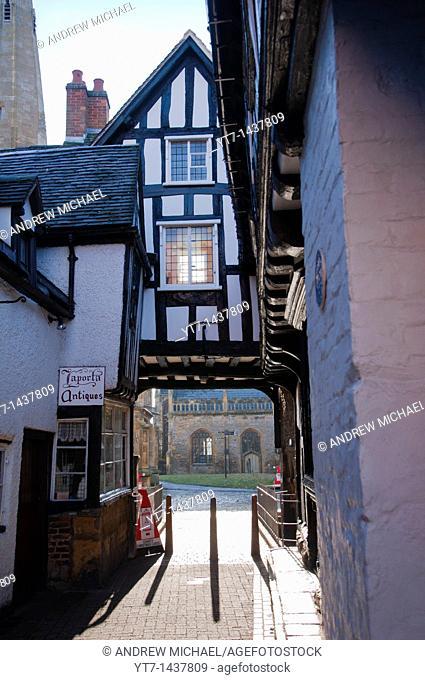 Abbot Reginald's Gateway, Evesham, Worcestershire, England, United Kingdom