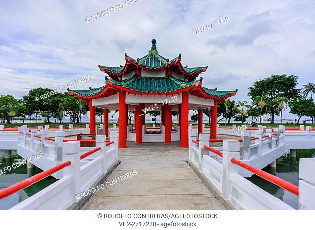 Chinese Pagoda in Singapore