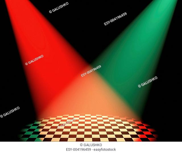 color volumetric light