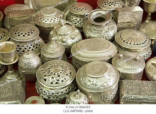 Close Up of Traditional Omani Silver  Muscat, Oman