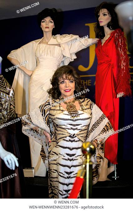 Joan Collins is set to auction off her iconic wardrobe including Dynasty costumes on Wednesday, Dec 16th, 2015. 'Self-confessed hoarder' Joan Collins to auction...