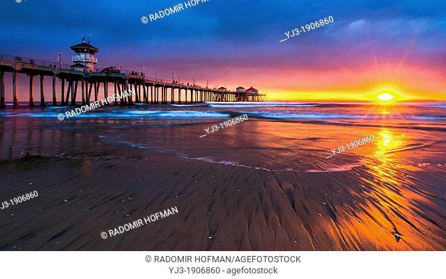 Huntington Beach Piear, California, USA