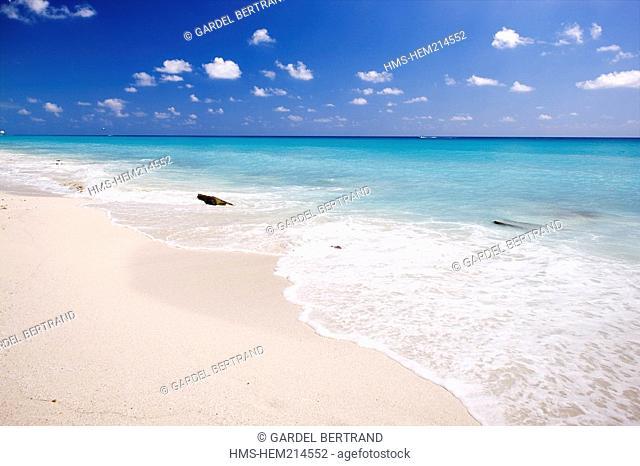 Mexico, Quintana Roo State, Riviera Maya, Cancun, Playa Delfines