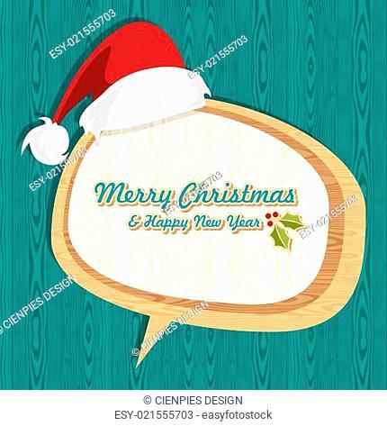 Retro wooden Christmas sale set
