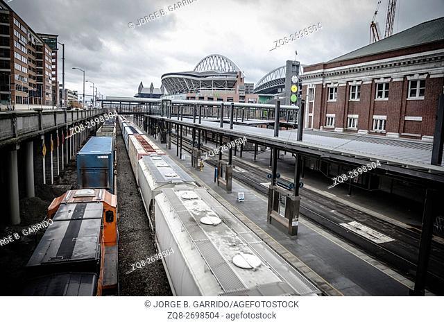 Seattle Trains, Washington state