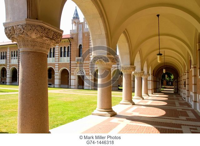 Rice University Loggia, Houston, Texas, USA
