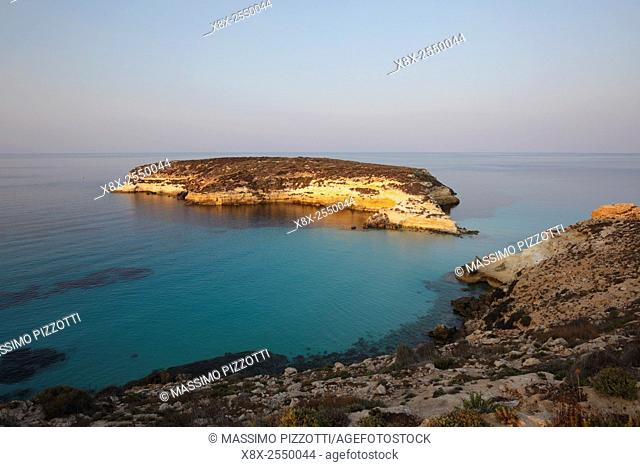 Island of Rabbits in Lampedusa, Sicily, Italy